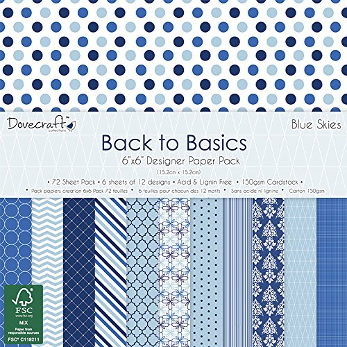 trimcraft-dove-craft-back-to-basics-pack-de-papel-152x-152cm-7blue-skies-12diseos-6cada-una-acrlico-