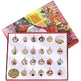 MIFASA Kerstornamenten om op te hangen, cadeauset ter decoratie van de kalender, accessoires voor halsketting met armband voo