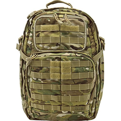 5.11 Tactical RUSH24 Backpack - 56955-169-Multicam-1 SZ-, Multicam