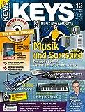 Keys 12 2012 mit DVD - Musik und Surround - Magix Samplitude Pro X Silver Software auf DVD - Personal Samples - Free Loops - Audiobeispiele