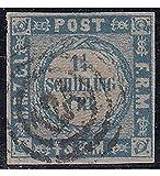 Goldhahn Schleswig-Holstein Nr. 5 I gestempelt Geprüft Briefmarken für Sammler