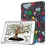 HBorna Hülle für iPad 9.7 Zoll 2018 2017, Smart Cover Case mit [Auto Schlaf/Wach] Dünn Superleicht Schutzhülle Hülle Tasche Standfunktion für New Apple iPad 9,7 2018/2017, Kirchenfenster