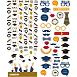 Polaroid Colorful & Decorative Graduation Stickers For 2x3 Photo Paper Projects (Snap, Zip, Z2300) - 2 Unique Sheets