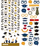 Polaroid bunte und dekorative Schulabschlusssticker für 5 x 7,5 cm Fotopapier Projekte (Snap, Zip, Z2300) - 2 Seiten