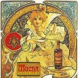 Alphonse Mucha Poster Art 2018 (Fine Arts)