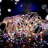 Salcar USB bunte LED Lichterkette wasserdicht 10 Meter