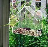 Oxforder Perspex Window Bird Feeder