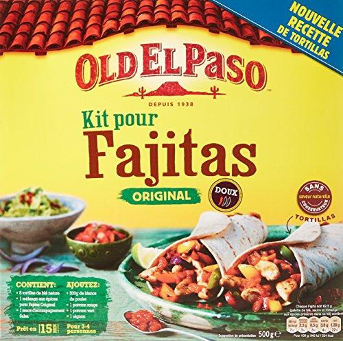 old-el-paso-kit-pour-fajita-500-g-lot-de-10