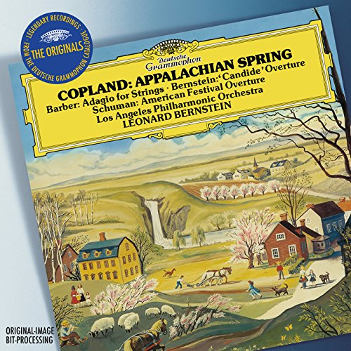 Copland: Appalachian Spring / W. H. Schuman: American Festival Overture / Barber: Adagio For Strings, Op.11 / Bernstein: Overture Candide (Live) Wh-audio