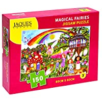 Magical Fairies Jigsaw Puzzle 150 Pieces - Jigsaw Puzzle Suitable for 4 - 5 - 6 - 7 Year Olds - Finest Quality For Over 220 Years