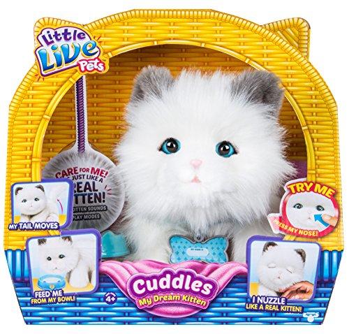 Little Live Pets-Cuddle Kitten, lpd00 (Haustiere Annahme)