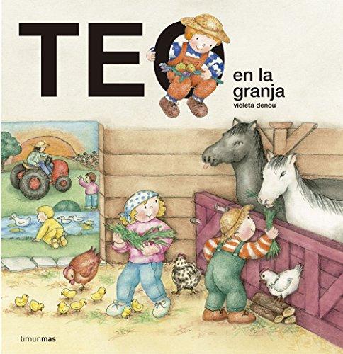 Teo en la granja por Violeta Denou