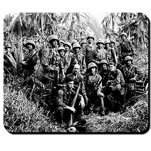 GI jungle fighter Amerika USA US Army Tarn Uniform Tarnuniform Tropen Militär Japan Pazifik Iwo Jima Foto Bild - Mauspad Mousepad Computer Laptop PC #8288