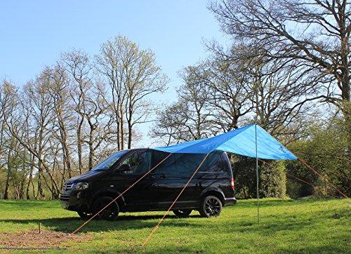 Preisvergleich Produktbild VW Wohnmobil Vordach / Sonnensegel - Azure Blau
