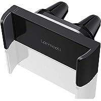 Lamicall Handyhalter fürs Auto, Handy Autohalterung - Universal 360 Grad Drehung KFZ Lüftung Halter für iPhone 11 Pro, Xs Max, XR, X, 8, 7, 6S, Samsung S10 S9 S8 S7 S6, Huawei, Smartphone - Schwarz