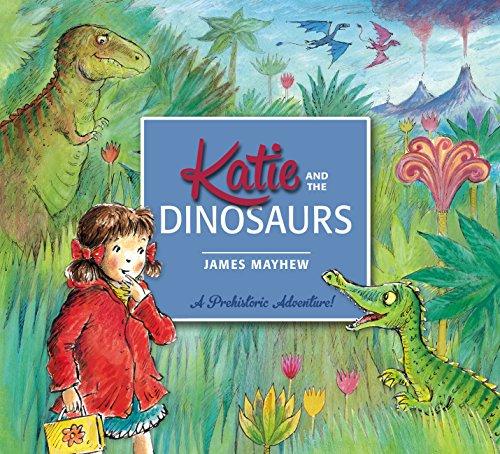 Katie: Katie and the Dinosaurs (English Edition) (Für T-rex-informationen Kinder)