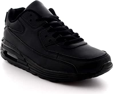 Mens Fitness Air Bubble Sport Walking Running Performance Shoes Lightweight Trainers