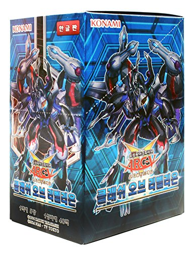 Yu-Gi-Oh! Konami Yugioh Karten ARC V Booster Pack Box TCG OCG 200 Karten Clash of Rebellions Koreanisch Ver (Booster Pack Box)