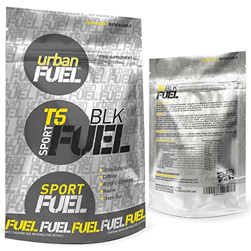 Urban Fuel T5 BLK Fat Burners | Very Strong Black Edition Unisex Slimming Pills | Diet & Weight ...