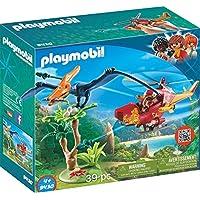 Playmobil-9430 Helicóptero con Pterosaurio, (9430)