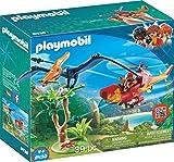 Playmobil-9430 Helicóptero con Pterosaurio (9430)