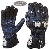 Motorradhandschuhe Regen Winter Race Leder Motorrad Handschuhe von PROANTI - Gr. L