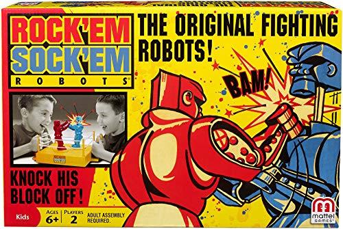 Mattel Rock\'Em Sock\'Em Robots Spiel, mehrfarbig