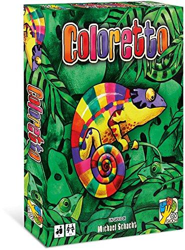 DV Giochi DVG9319 - Coloretto Gioco da tavolo