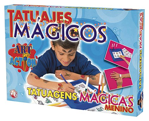 Imagen principal de Falomir 646454 - Juego Tatuajes Mágicos Niño