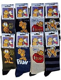 Chaussettes homme Garfield. Modèle photo selon arrivage.
