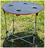 IIT Round Folding Camping Table For Outd...