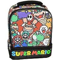 Preisvergleich für Super Mario Isolierte Lunch Box Soft Kit Dual Fach Kühler Zeichen