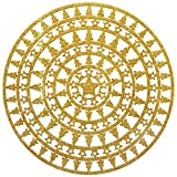 Neviti Dazzling Christmas Platzsets - Filz, Gold