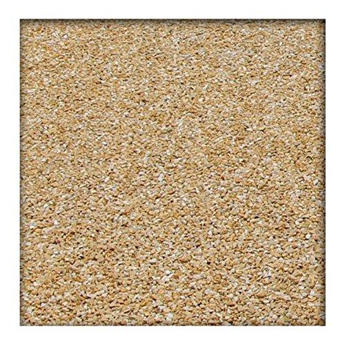 Kieskönig 25 kg Marmor Fugensplitt 1-3 mm für dekorative farbige Pflaster- oder Plattenfugen Gelb -
