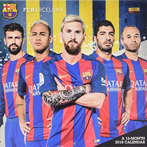 FC Barcelona 2018 Calendar
