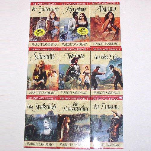 Die Saga vom eisvolk 1-9 (Der Zauberbund - Hexenjagd - Abgrund - Sehnsucht - Todsünde - Das böse Erbe - Das Spukschloss - Die Henkerstochter - Der Einsame)