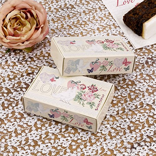 With Love   Pack Of 10 Cake Boxes 672342