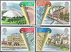 United Kingdom 984-987 (complete.issue.) 1984 urban redevelopment (Stamps for collectors)