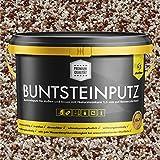 Buntsteinputz weiss/nude/rotbraun 20kg