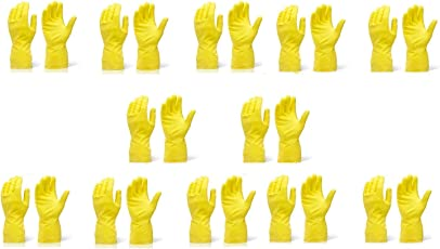 Generic SF-GL-001 2 Pairs of Reusable Latex Safety Gloves for Washing, Cleaning, Kitchen, Garden and Sanitation