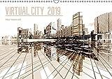 VIRTUAL CITY 2019 CH-Version (Wandkalender 2019 DIN A3 quer): Virtuelle Architektur - moderne Stadtansichten (Monatskalender, 14 Seiten ) (CALVENDO Orte) - Max Steinwald