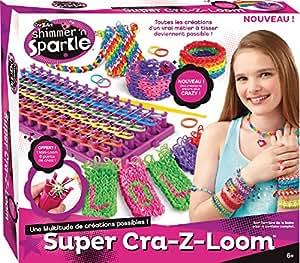 Super LOOM Cra z loom + mini loom 6 points de croix OFFERT TV NOEL Crazyloom
