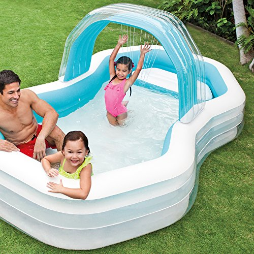 Intex 57198NP - Piscina hinchable 310 x 188 x 130 cm 700 litros