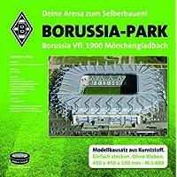 """Borussia Mönchengladbach Stadion Arena """"Borussia Park"""" Stadionbausatz zum Selberbauen Fanartikel/Geschenk …"""