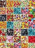 i.stHOME Klebefolie Candy bunt - Süßigkeiten - Möbelfolie selbstklebend - Dekofolie 45 x 200 cm