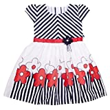 Yashasvi Girl's Pretty Cotton Dress