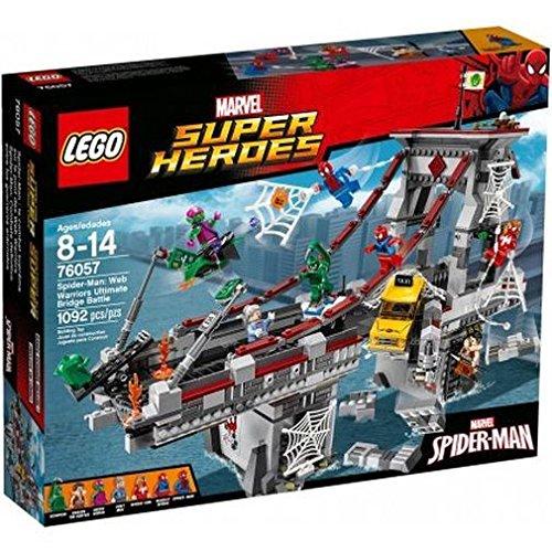 LEGO 76057 Super Heroes Spider-Man Web Warriors Ultimate Bridge Construction Set