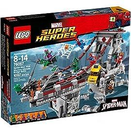 LEGO-Marvel-Super-Heroes-76057-Spider-Man-Ultimatives-Brckenduell-der-Web-Warriors