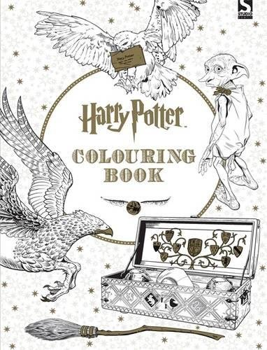 Harry Potter Colouring Book (ANGLAIS)