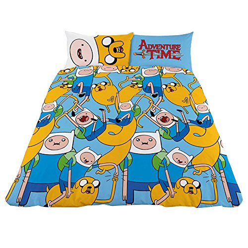 Adventure Time RT Single Bettbezug-Set, Mehrfarbig